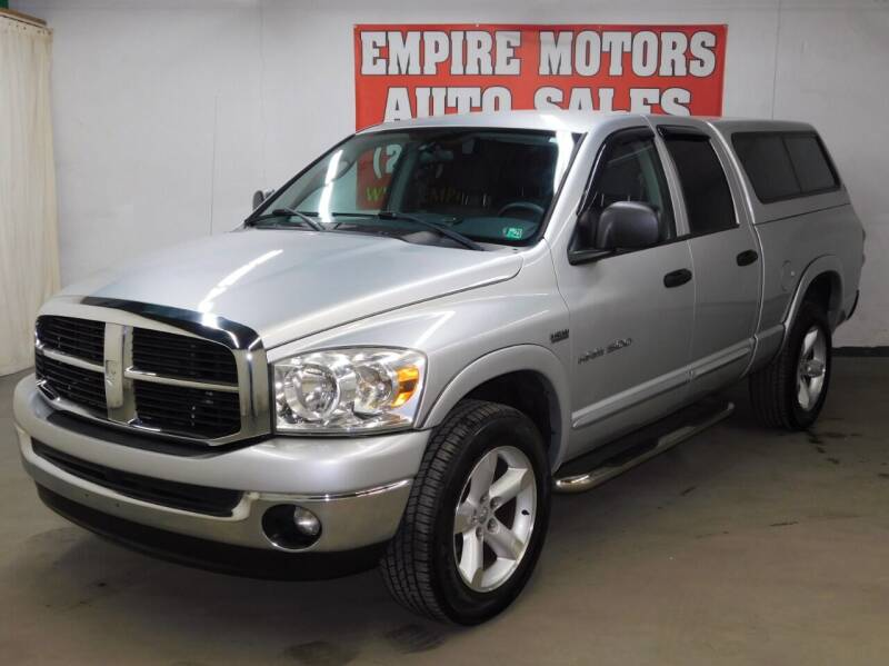 2007 Dodge Ram Pickup 1500 for sale at EMPIRE MOTORS AUTO SALES in Philadelphia PA