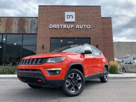 2017 Jeep Compass for sale at Dastrup Auto in Lindon UT