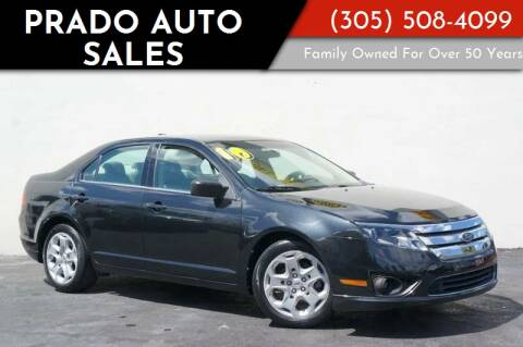 2010 Ford Fusion for sale at Prado Auto Sales in Miami FL