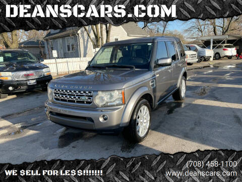 2011 Land Rover LR4 for sale at DEANSCARS.COM in Bridgeview IL