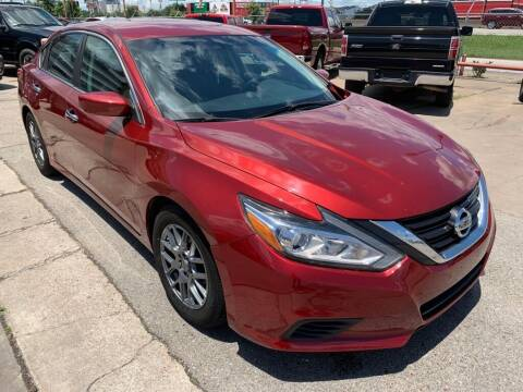 2016 Nissan Altima for sale at JAVY AUTO SALES in Houston TX