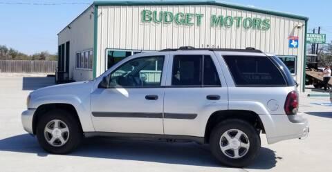 2005 Chevrolet TrailBlazer for sale at Budget Motors in Aransas Pass TX