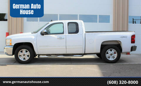 2012 Chevrolet Silverado 1500 for sale at German Auto House in Fitchburg WI
