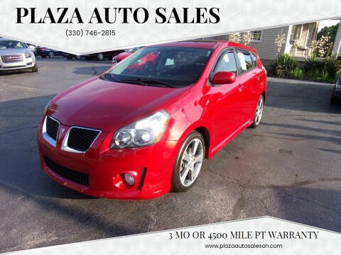 2009 Pontiac Vibe for sale at Plaza Auto Sales in Poland OH