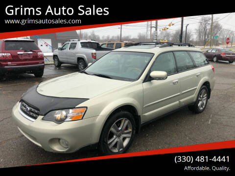 2005 Subaru Outback for sale at Grims Auto Sales in North Lawrence OH