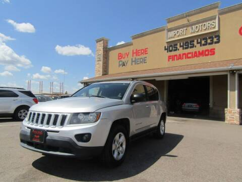 2014 Jeep Compass for sale at Import Motors in Bethany OK