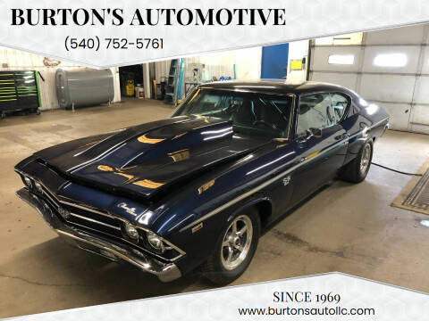 1969 Chevrolet Malibu for sale at Burton's Automotive in Fredericksburg VA