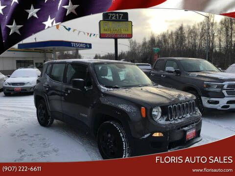 2017 Jeep Renegade for sale at FLORIS AUTO SALES in Anchorage AK