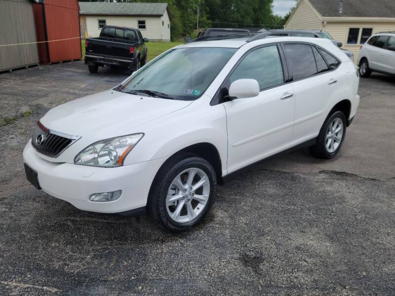 2009 Lexus RX 350 for sale at Motorsports Motors LLC in Youngstown OH