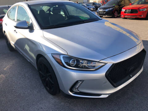 2017 Hyundai Elantra for sale at Auto Access in Irving TX