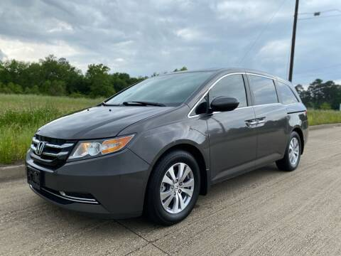 2015 Honda Odyssey for sale at Russell Brothers Auto Sales in Tyler TX