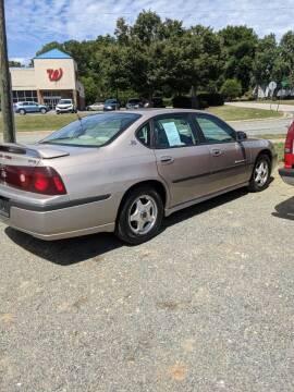 2002 Chevrolet Impala for sale at Delgato Auto in Pittsboro NC