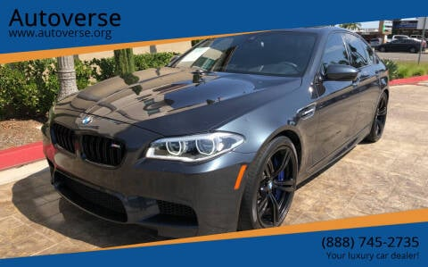 2016 BMW M5 for sale at Autoverse in La Habra CA