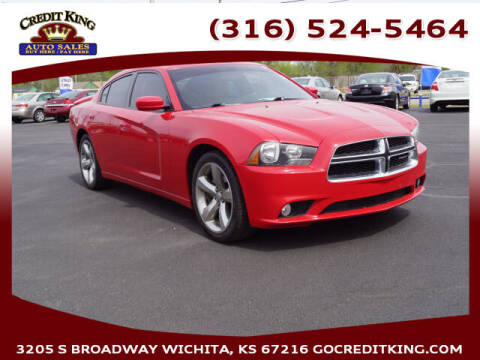 2012 Dodge Charger for sale at Credit King Auto Sales in Wichita KS