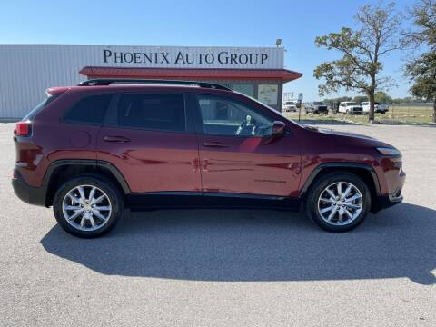 2018 Jeep Cherokee for sale at PHOENIX AUTO GROUP in Belton TX