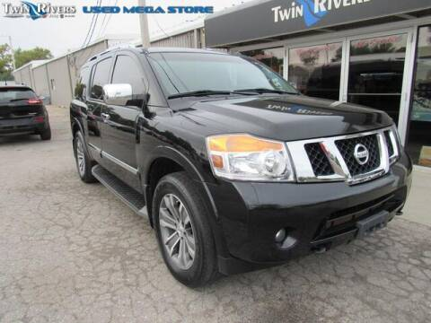 2015 Nissan Armada for sale at TWIN RIVERS CHRYSLER JEEP DODGE RAM in Beatrice NE
