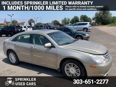 2008 Chrysler Sebring for sale at Sprinkler Used Cars in Longmont CO