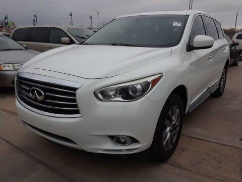 2013 Infiniti JX35 for sale at Auto Haus Imports in Grand Prairie TX