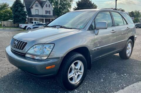 2001 Lexus RX 300 for sale at Mayer Motors of Pennsburg in Pennsburg PA