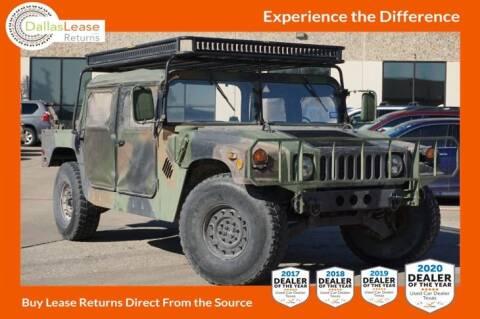 2004 HUMMER H1 MILITARY 4WD for sale at Dallas Auto Finance in Dallas TX