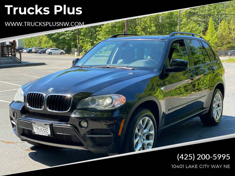 2012 BMW X5 for sale at Trucks Plus in Seattle WA