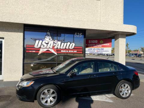 2012 Chrysler 200 for sale at USA Auto Inc in Mesa AZ