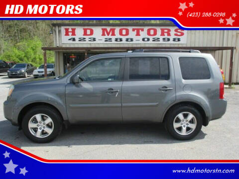 2009 Honda Pilot for sale at HD MOTORS in Kingsport TN