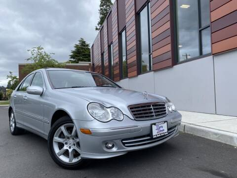 2007 Mercedes-Benz C-Class for sale at DAILY DEALS AUTO SALES in Seattle WA