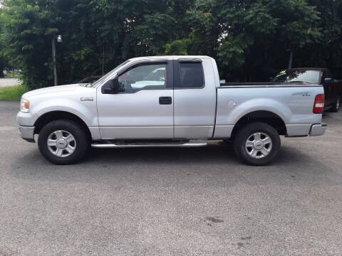 2005 Ford F-150 for sale at Riverview Auto's, LLC in Manchester OH