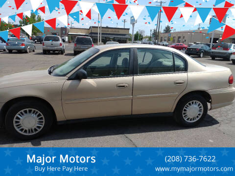 2004 Chevrolet Classic for sale at Major Motors in Twin Falls ID