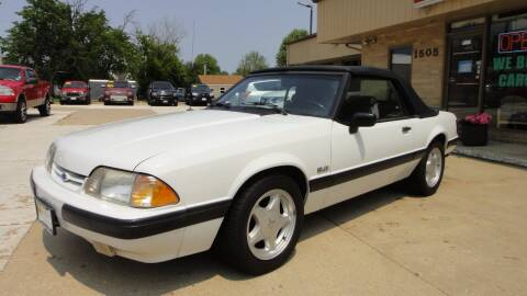 1991 Ford Mustang for sale at Bob Waterson Motorsports in South Elgin IL