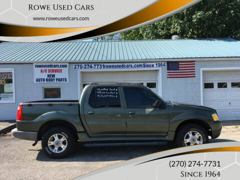 2004 Ford Explorer Sport Trac for sale at Rowe Used Cars in Beaver Dam KY