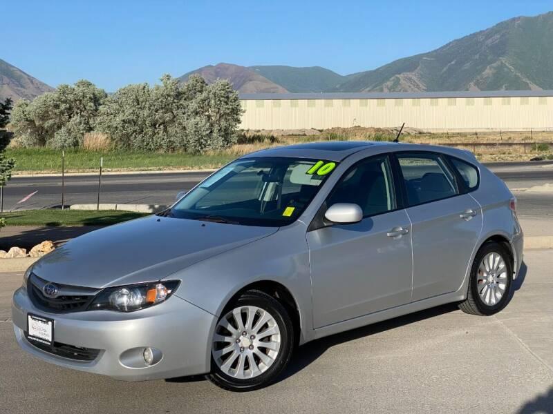 2010 Subaru Impreza for sale at Evolution Auto Sales LLC in Springville UT
