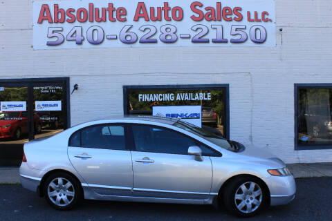 2006 Honda Civic for sale at Absolute Auto Sales in Fredericksburg VA