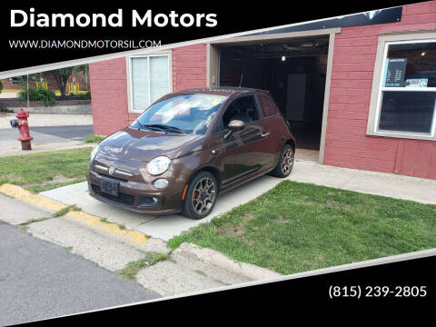 2012 FIAT 500 for sale at Diamond Motors in Pecatonica IL