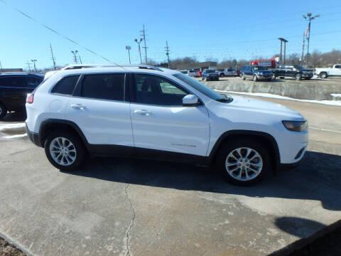 2019 Jeep Cherokee for sale at BLACKWELL MOTORS INC in Farmington MO