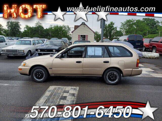 1995 Toyota Corolla for sale at FUELIN FINE AUTO SALES INC in Saylorsburg PA