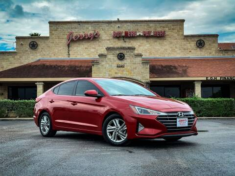 2019 Hyundai Elantra for sale at Jerrys Auto Sales in San Benito TX