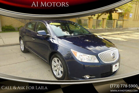 2010 Buick LaCrosse for sale at A1 Motors Inc in Chicago IL