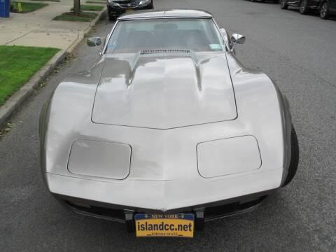 1976 Chevrolet Corvette for sale at Island Classics & Customs in Staten Island NY