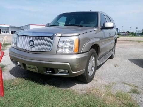 2002 Cadillac Escalade for sale at USA Auto Sales in Dallas TX