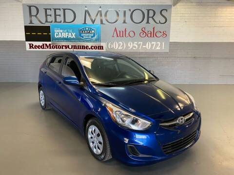 2016 Hyundai Accent for sale at REED MOTORS LLC in Phoenix AZ