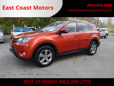 2015 Toyota RAV4 for sale at East Coast Motors in Lake Hopatcong NJ