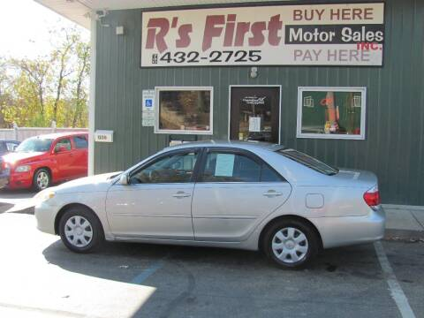 2005 Toyota Camry for sale at R's First Motor Sales Inc in Cambridge OH