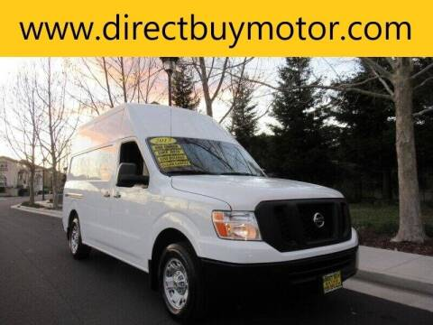 2017 Nissan NV Cargo for sale at Direct Buy Motor in San Jose CA