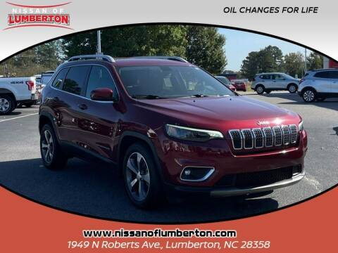 2019 Jeep Cherokee for sale at Nissan of Lumberton in Lumberton NC