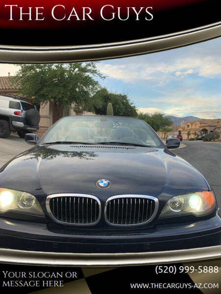 2005 BMW 3 Series for sale at The Car Guys in Tucson AZ