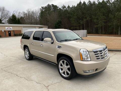 2008 Cadillac Escalade ESV for sale at Two Brothers Auto Sales in Loganville GA