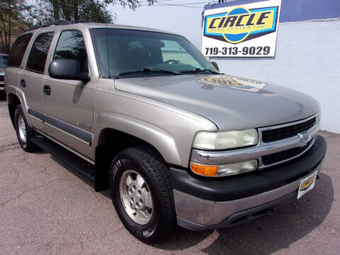 2002 Chevrolet Tahoe for sale at Circle Auto Center in Colorado Springs CO