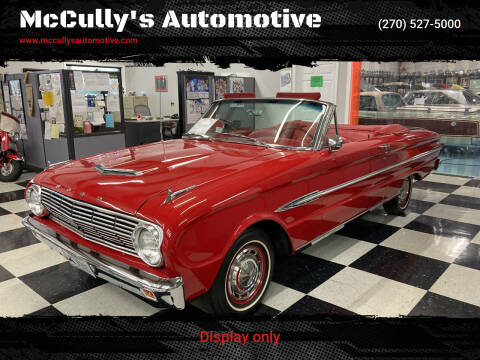 1963 Ford Falcon for sale at McCully's Automotive in Benton KY